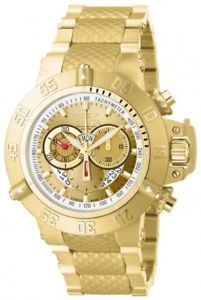 invicta mens subaqua collection 50mm chronograph stainless steel watch 5403