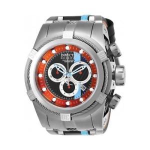 【送料無料】invicta mens reserve quartz chronograph stainless steel watch 26471