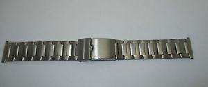 【送料無料】bracelet pour montre en metal acier mat maille originale t22