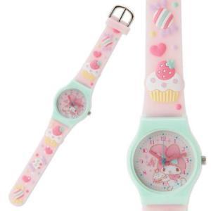 【送料無料】my melody watch wristwatch flower