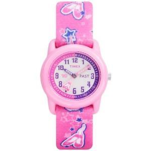 【送料無料】timex kids ballerina time teacher watch t7b151