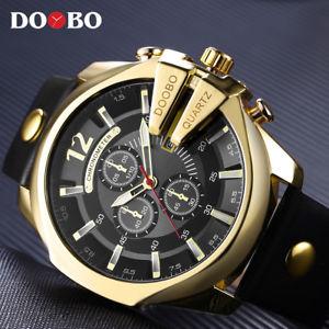 【送料無料】relogio masculino doobo golden men watches top luxury popular watch man quartz g