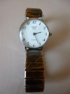 【送料無料】ancienne petite montre femme mcanique dore  yema club  bracelet extensible