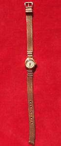 【送料無料】ancienne montre de femme aurore plaque or