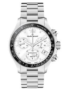 【送料無料】claude bernard aquarider damen chronograph 10212 3 ain