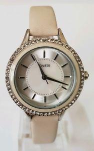 【送料無料】oasis ladies crystal watch b1571