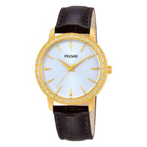 【送料無料】pulsar ladies swarovski rose gold plated watch ph8112x1pnp