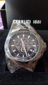 【送料無料】cerruti 1881 herren chrono uhr watch chronograph neucra026f224g