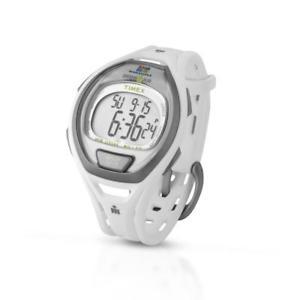【送料無料】orologio timex maratona 50 lap twla511005 silicone bianco chrono timer alarm