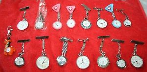 【送料無料】lot revendeur de 15 montres infirmire divers collection n2