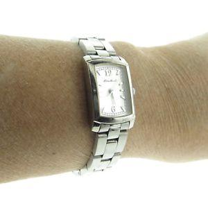 【送料無料】neues angeboteddie bauer stainless steel watch rectangle 65