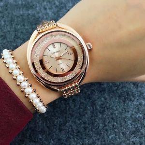 【送料無料】top contena watch women watches rose gold bracelet watch luxury rhinestone ladie