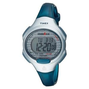 【送料無料】timex tw5m10100jv womens ironman essential blue resin strap watch