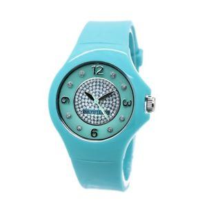 【送料無料】morellato colours,orologio da polso donna,36mm,verde acqua,cristalli,r0151114539