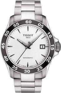 【送料無料】tissot mens v8 swissmatic automatic stainless steel watch t1064071103100
