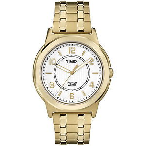 【送料無料】timex tw2p62000, mens goldtone expansion watch, indiglo, tw2p620009j