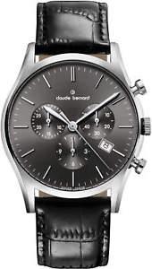 【送料無料】claude bernard sophisticated classics chronograph 10218 3 nin