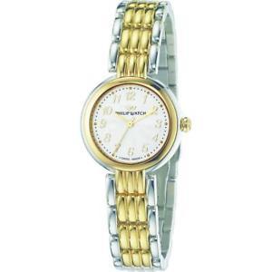 【送料無料】orologio donna philip watch ginevra r8253491505 acciaio bicolor gold dorato