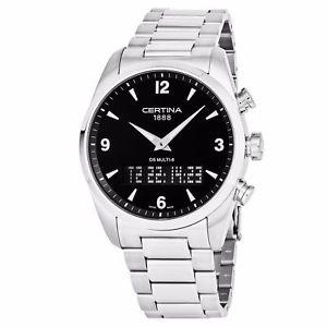 【送料無料】nib certina ds multi8 analogy digital watch, ad, swiss made, msrp 845