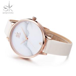【送料無料】shengke elegant ladies quartz watches female women gold white xmas gifts for her