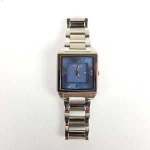 【送料無料】kenneth cole reaction mens stainless steel calendar watch