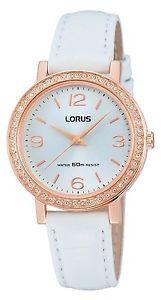 【送料無料】lorus ladies leather strap watch rg202jx9os lnp