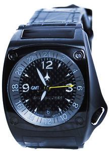 chase durer wing gmt pvd reversible strap watch 5504bs  retail 595 50