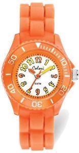 【送料無料】colori kids orange colorful watch