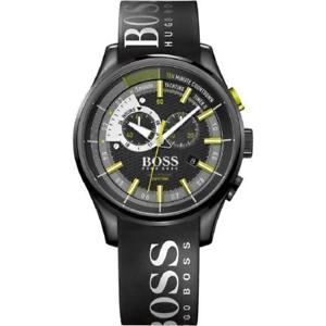 【送料無料】hugo boss mens yachting timer ii chronograph watch, rubber strap, 1513337