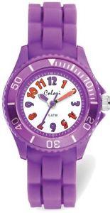 【送料無料】colori kids purple colorful watch