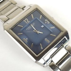 kenneth cole reaction mens stainless steel calendar watch