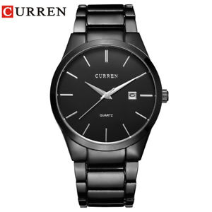 【送料無料】curren luxury analog sports wristwatch business rare gift for him dad father son