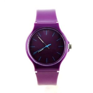 【送料無料】montre originale pre violet bracelet plastique mymontre