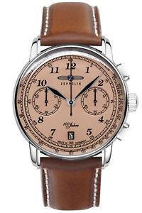 【送料無料】zeppelin herrenchronograph lz127 chrono 76745