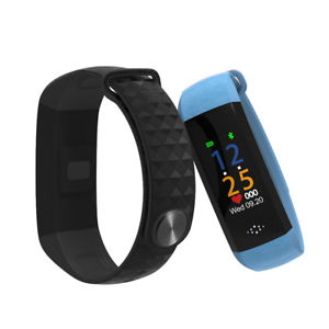 【送料無料】sanda m12p smart bracelet heart rate alarm blood pressure monitor exercise fitne