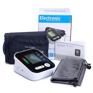 【送料無料】arm type blood pressure monitor with voice lcd digital pression elcetronic healt