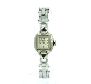 【送料無料】ladies vintage gruen 17 jewel handwinding 10k gold filled watch 582210 b465843