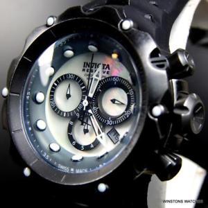 【送料無料】invicta reserve venom gen ii distressed swiss made chronograph mop watch