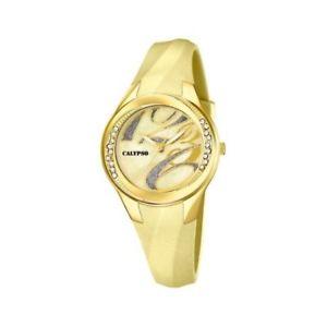 【送料無料】orologio solo tempo donna calypso by festina in alluminio k55989