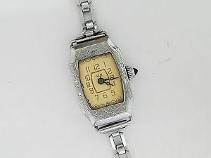 【送料無料】antique gem 15j sorority watch co model wristwatch  3510