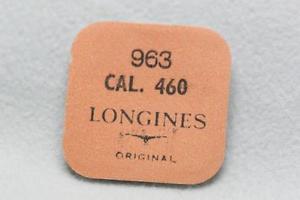 【送料無料】nos longines part no 963 for calibre 460 female stem part x 3