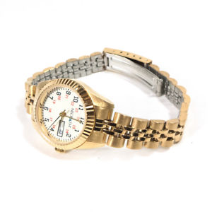 【送料無料】vintage ne plus ultra neopath gold toned waterproof wristwatch watch w box 650