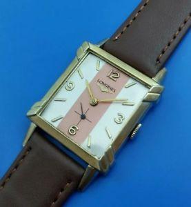 【送料無料】vintage 1953 mans longines hand winding fully serviced w warranty