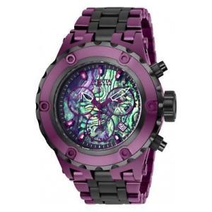 【送料無料】invicta mens reserve quartz chronograph stainless steel watch 25912