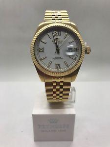 【送料無料】pryngeps a821l orologio da uomo placcato in oro nuovo garanzia pryngeps 24 mesi