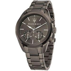 【送料無料】maserati r8873612002 mens traguardo chronograph wristwatch