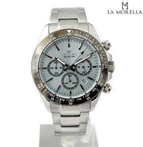 【送料無料】pryngeps cr623g1 orologio uomo bianco in acciaio nuovo con garanzia 24 mesi