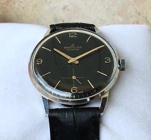 【送料無料】breitling classico orologio da uomo vintage ref 1905