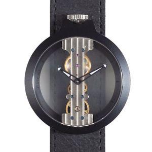 【送料無料】orologio a carica manuale cinturino pelle atto verticale referenza 3343b2
