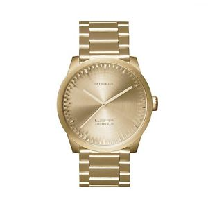 【送料無料】leff amsterdam lt71103 s38 brass tube wristwatch
